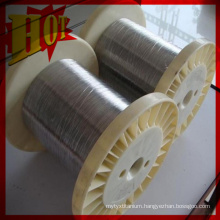 Dia 0.025 mm High Purity N6 Nickel Wire in Coil