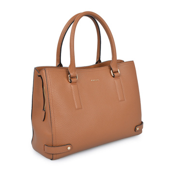 Robinson Saffiano Leather Tote Universelle Laptoptasche Braun