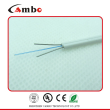 FTTH indoor drop G657A fiber optic cable,G657A fiber cable with steel strength member