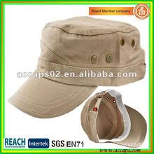 blank military style cap in Shenzhen MC-1285