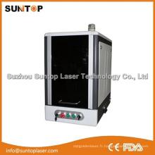 Machine de marquage par laser à fibre de bureau à pleine surface / marqueur laser