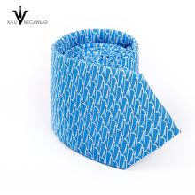 Gravata de seda de 100% de gravata de homens personalizados de moda