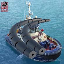 Defensa modificada para requisitos particulares del remolcador de la defensa del cilindro hueco del tamaño para la nave