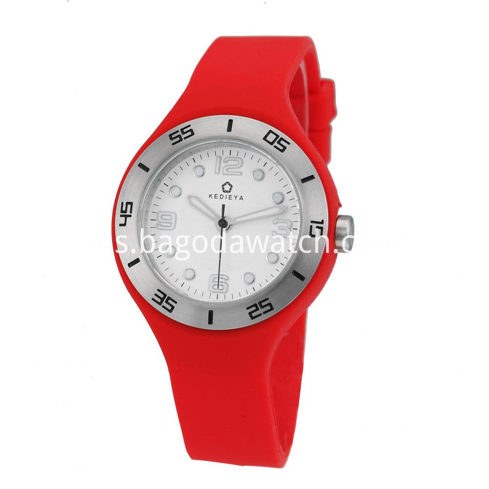 Womens Silicone Strap Watches