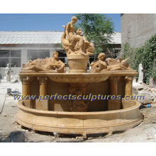 Carved Wall Fountain for Garden Stone Carving Sculpture (SY-F228)