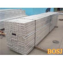 Tablón de andamios de metal de alta calidad con gancho para la construcción