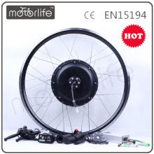 MOTORLIFE / OEM CE 1000w vélo électrique kit sans alimentation de batterie 48v