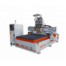 Automatic multi-head cnc carving wood router