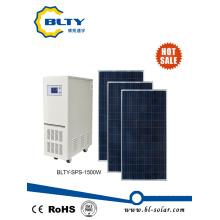 1500W apagado del sistema de energía solar de la rejilla para el aparato electrodoméstico