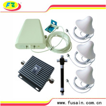 Maior potência 3 salas de grande cobertura 850MHz / 1900MHz GSM 3G Dual Band impulsionador de sinal móvel