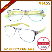 R1629 High Quality Ultra Thin Reading Eyewear Witn Bamboo Temples
