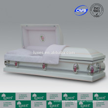 LUXES Metal Caskets China Manufacturer For Funeral
