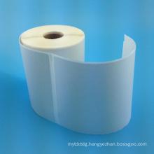 2016 Custom inkjet label roll adhesive blank paper sticker roll