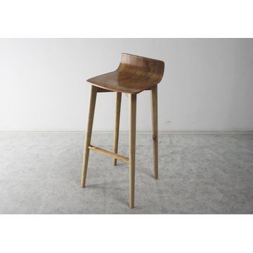 Wooden Furniture Solid Wood High Quality Wood Bar Chairs