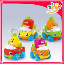 Mini Cartoon Friction Car Toys For Baby Mini Plastic Car