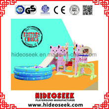 Kindertagesstätte Baby Slide mit Swing und Bastket Ball Hoop