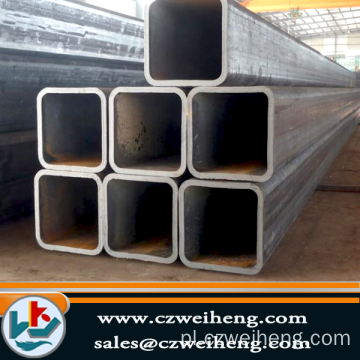 Q235, Q195 Square Steel Pipe (czarny i