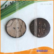 Boutons de noix de coco naturels pour le vêtement BN8048