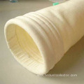 Dust collection high temperature glass fiber filter bag