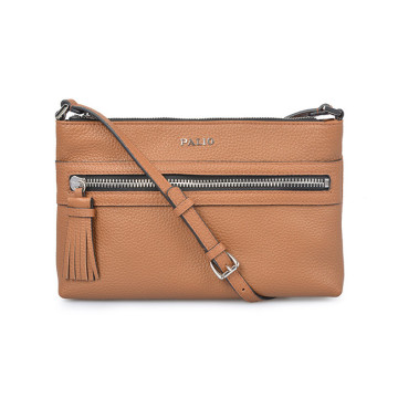 Clutch Purse Tan Color Letter Kleine Beuteltasche
