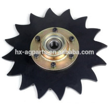 """Agricultural Equipment Parts 8"""" Notched Covering Disc Assembly"""