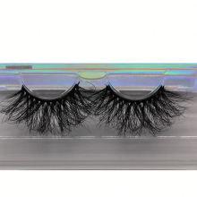 SL039H Hitomi Real Mink Lashes 3d Mink Eyelashes soft natural mink eyelashes Fluffy 25mm Magnetic Eyelashes