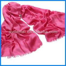 Popular design solid color viscose scarf