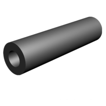 china superior factory inflatable cylindrical rubber fender rubber mandrel Black Rubber Fender