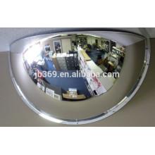 Espejo convexo con espejo convexo de 180 grados con cúpula rígida