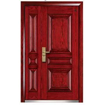 Экстерьер Стальные-Деревянные Бронированные Двери