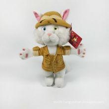Plush Soft Brand Cartoon Cat with Dress