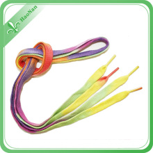 Gradient Color Quality First New Flat Hollow Shoelace