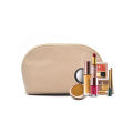 Personnalisé Logo Zpper Promotion Pu Maquillage Cosmetic Bag