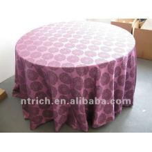 Дамасские скатерть, крышка стола, столовое белье, фиолетовый цвет, жаккард скатерть, отель Скатерть, красивый узор и прочной ткани