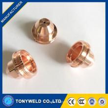 Piezas de corte de plasma de aire boquilla / puntas 020608
