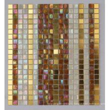Радужная мозаичная золотая мозаичная плитка (HC-28)