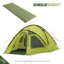 Selbstaufblasbares Campingzelt zum Verkauf für 2-6 Personen Camping im Freien
