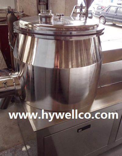Wet Type Mixing Granulator