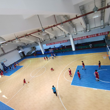 enlio Sports Flooring para cancha de baloncesto