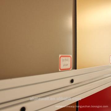 Alunewall Pollution resistant Nano PVDF coated aluminum composite panel exterior wall materials