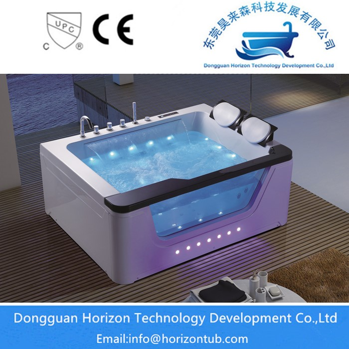 Glass Massage Tub