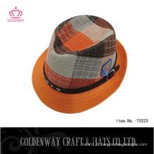 Nouveaux chapeaux d'hiver Fedora pour enfants T0223