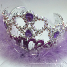 New Plastic Fairy Blinking Metallic Princess Tiara Crown