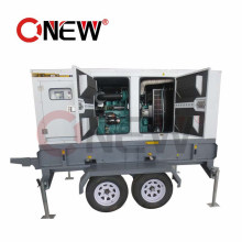 62.5kVA/50kw Best Power Trailer Type Diesel Power Generator with Wheels for Home