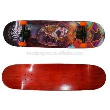 2106 high quality new design oem cold press skateboard decks