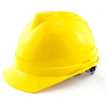 Yellow Fashion Hard Hat Safety Helmet with Ce