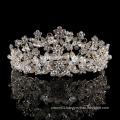 wedding jewelry headband Korean style handmade Bride Baroque Rhinestone Beads tiara Shiny crystal princess crown