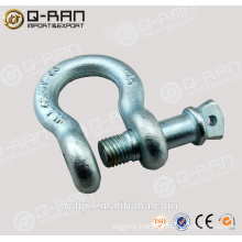 HDG US Type Drop Forged Shackles/ Screw Pin Shackles/ Crane Shackles/209 Shackles