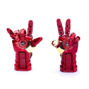 Moda Iron Man Hand Palm-LED USB Flash Drive