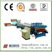 Machine de formage de rouleaux d'acier à froid à haute vitesse de la paroi de toit de la série HVM